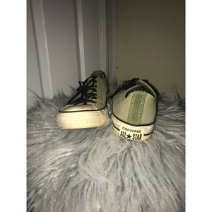 Army Green Converse All-Stars
